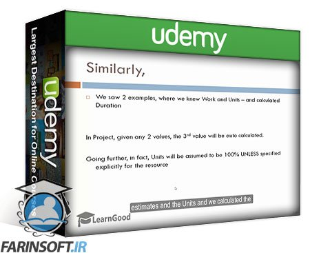 دانلود Udemy Microsoft Project ADVANCED: Project Management Technics 3 PDU