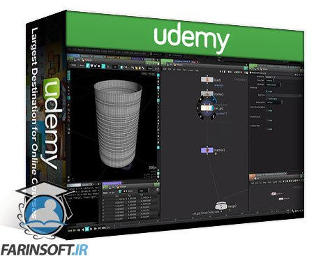 دانلود Udemy MIXTraining – Shading with redshift