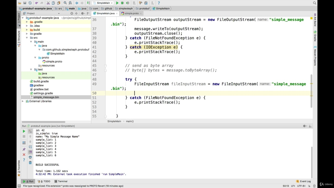 دانلود Udemy Complete Guide to Protocol Buffers 3 [Java