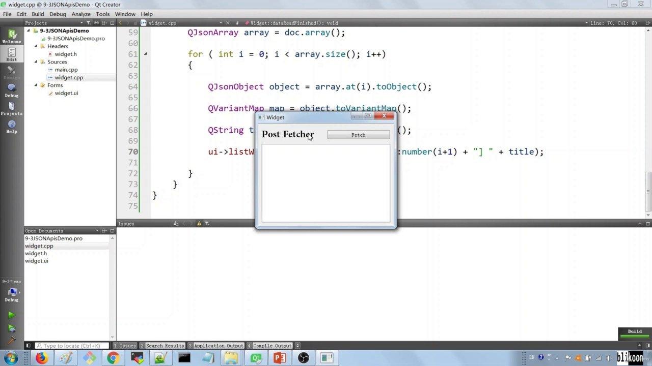 دانلود Udemy Qt 5 C++ GUI Development For Beginners : The