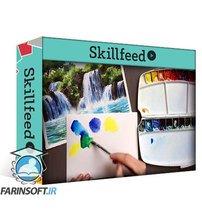 دانلود Skillshare Step-by-Step: Watercolorfall
