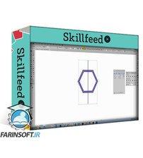 دانلود Skillshare 5 Hexagon Patterns in Illustrator – an Illustrator for Lunch™ course