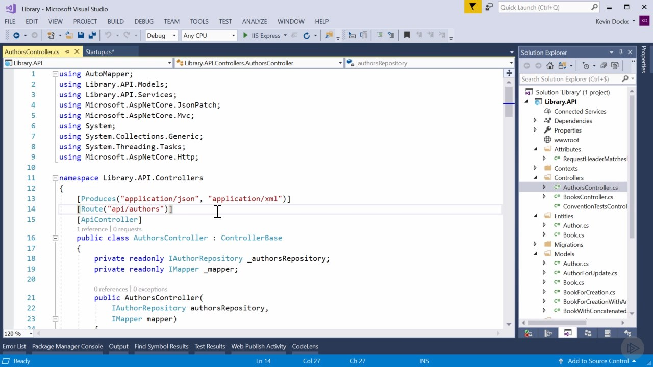دانلود PluralSight Documenting an ASP NET Core API with
