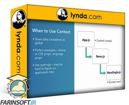 دانلود lynda React: Context API Development