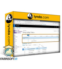 دانلود lynda SharePoint for Project Management (Modern Theme)