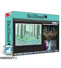 دانلود Skillshare Digital Painting: Create a Concept Scene from a Movie or Imagination
