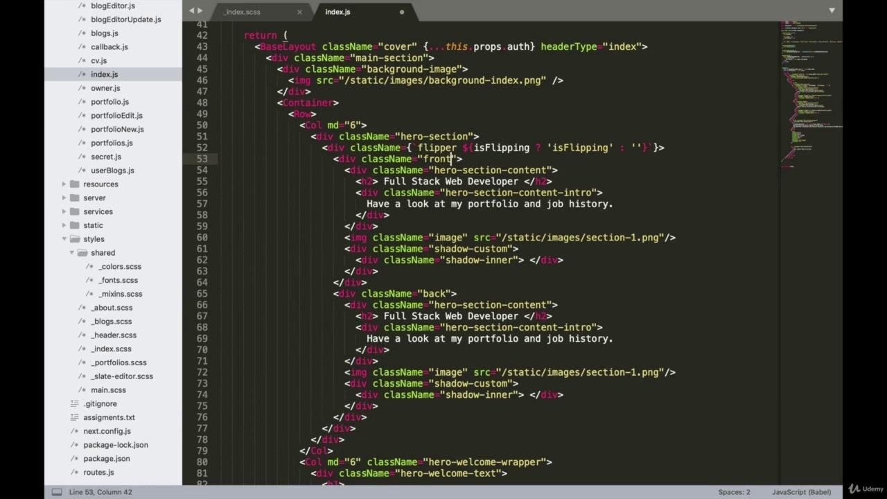 دانلود Udemy Complete Next js with React & Node - Beautiful