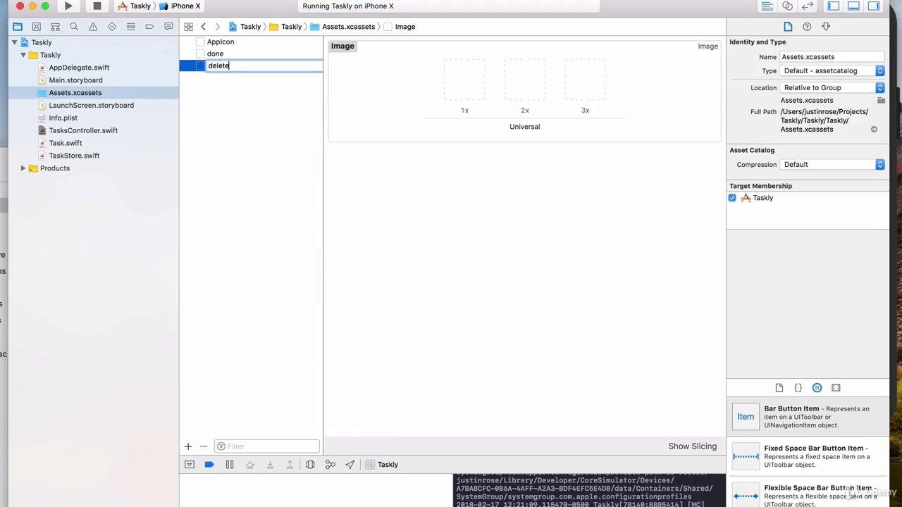 دانلود Udemy iOS 12 & Swift 4: Build a To-Do List App