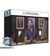 دانلود PhLearn Light Effects & Color Toning with Gradients in Photoshop