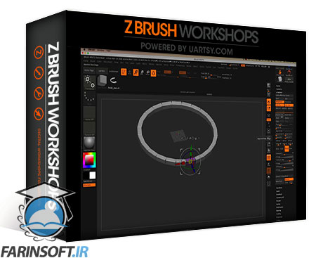 دانلود ZBrushWorkshops Mastering ZBrush 4 R8
