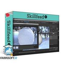 دانلود Skillshare Create a Procedural Snow Shader in Arnold for Maya