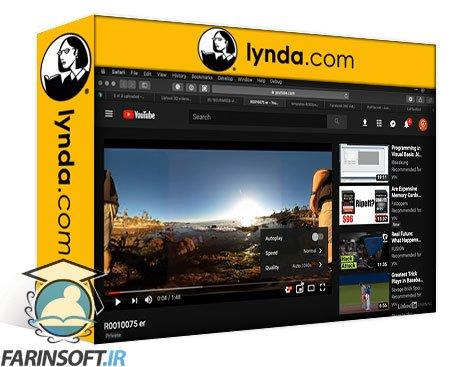 دانلود lynda Virtual Tours: Video, Photo, and VR
