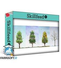 دانلود Skillshare Four Seasons: Creating Temperature and Mood With a Limited Palette