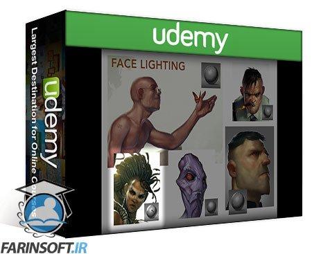 دانلود Udemy Painting Faces with the Power of Photoshop