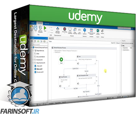 دانلود Udemy Detailed analysis of ReFramework
