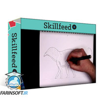 دانلود Skillshare Draw a Dinosaur #3 – A Beginner Drawing Lesson Featuring Coloring Pencils