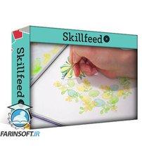 دانلود Skillshare Easy Floral Wreath with Watercolors