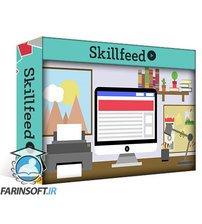 دانلود Skillshare How to Create Front Facing Point of View Flat Design Illustration in Canva