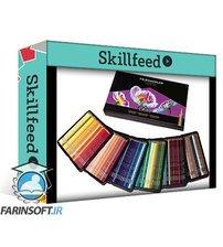 دانلود Skillshare How to Draw an Eye with Colored Pencils from Scratch