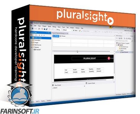 دانلود PluralSight SSRS Report Design and Data Formatting Playbook