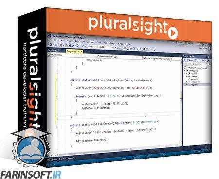 دانلود PluralSight Working with Files and Streams in C#