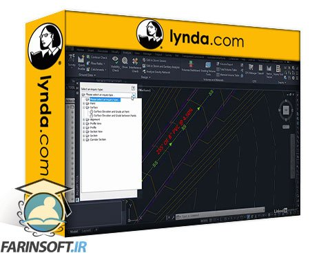 دانلود lynda Autodesk Civil 3D 2020 Essential Training