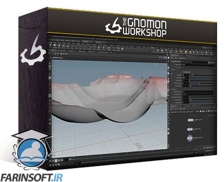 دانلود Gnomon Workshop Houdini Terrain Techniques