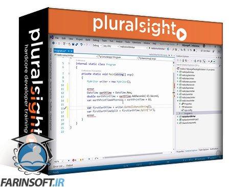 دانلود PluralSight What's New in Visual Studio 2019