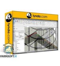 دانلود lynda Revit 2020: Essential Training for Structure (Imperial)