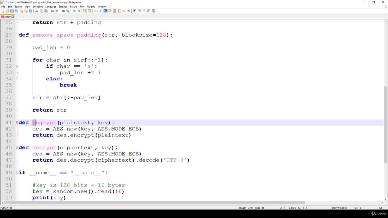 دانلود Udemy Learn Cryptography Basics in Python and Java