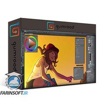 دانلود Gumroad Intro to Graphic Novel Coloring