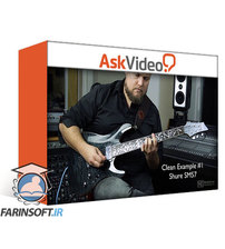 دانلود AskVideo Cubase 10 501 Studio Series Recording Guitars