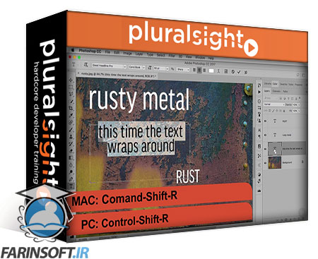 دانلود PluralSight Photoshop CC Power Shortcuts