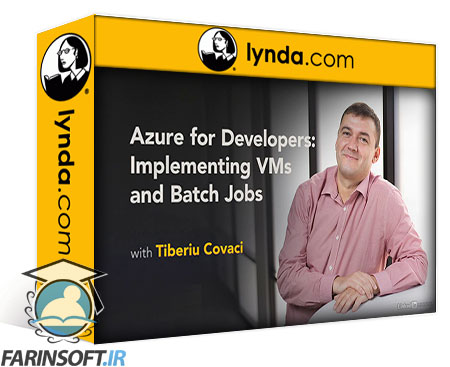 دانلود lynda Azure for Developers: Implementing VMs and Batch Jobs