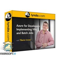 دانلود lynda Azure for Developers: Implementing VMs and Batch Jobs