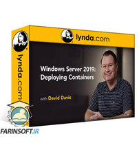 دانلود lynda Windows Server 2019: Deploying Containers