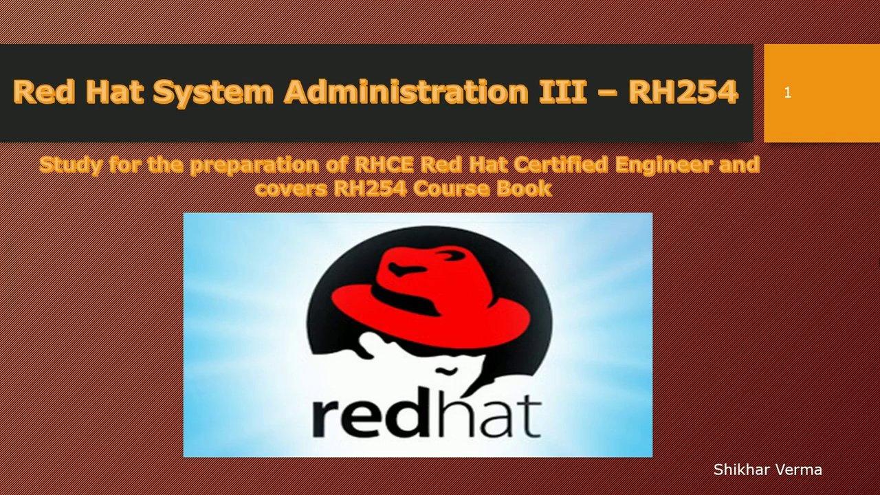 دانلود Udemy Red Hat Linux Certified System Admin - SA3