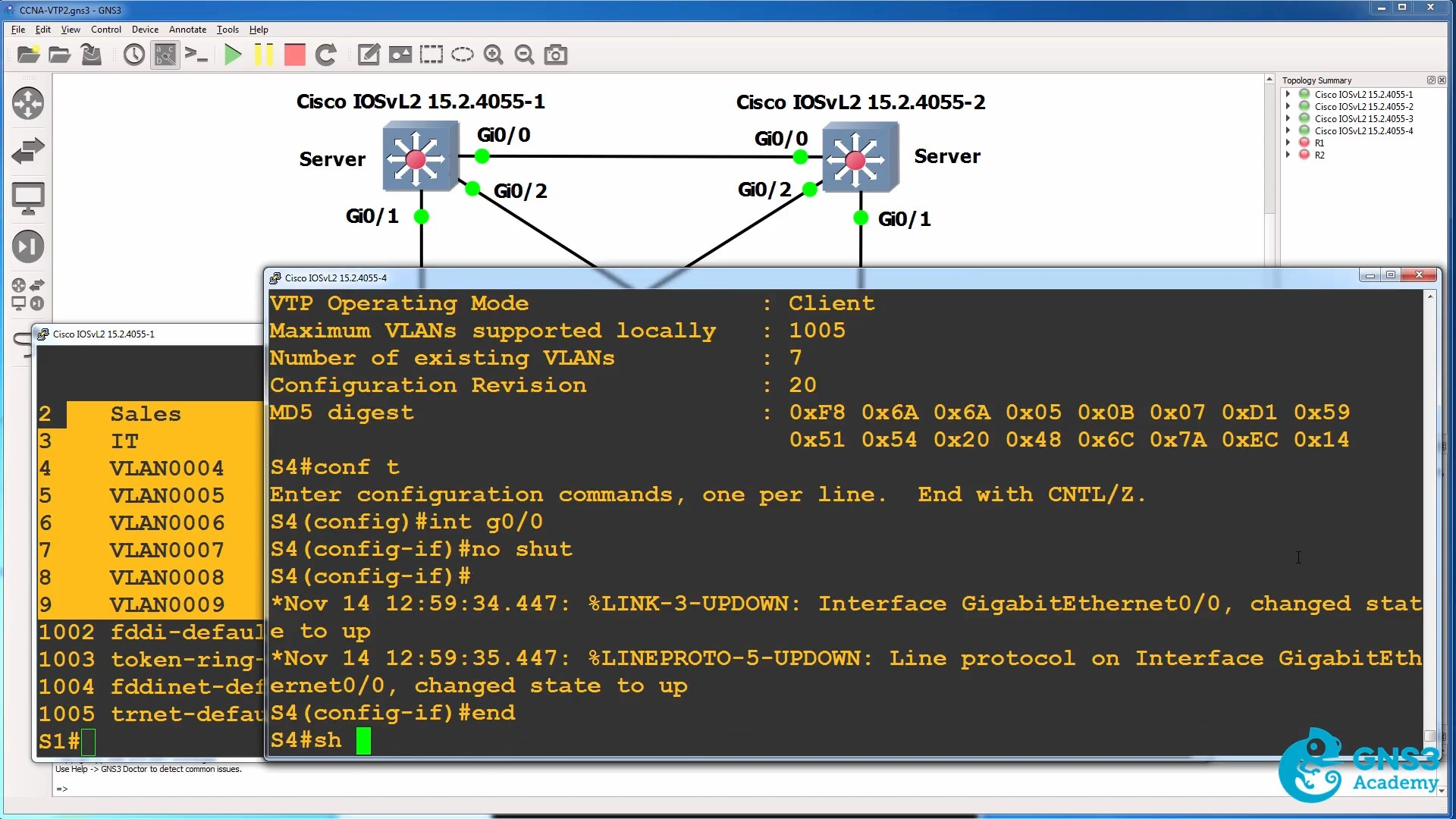 Ccna With Gns3