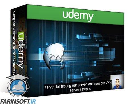 دانلود Udemy Setup Own VPN Server with Android, iOS, Win & Linux Clients