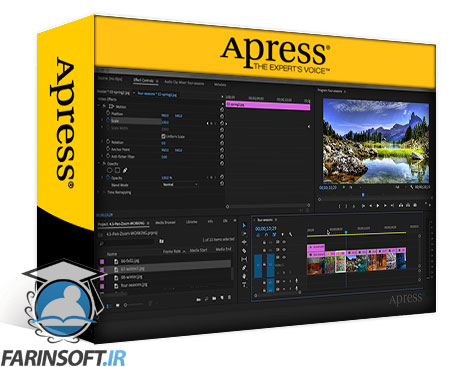 دانلود Apress Creating Motion Graphics in Adobe Premiere Pro