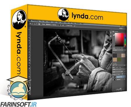 دانلود lynda Lightroom and Photoshop: Black and White Photography