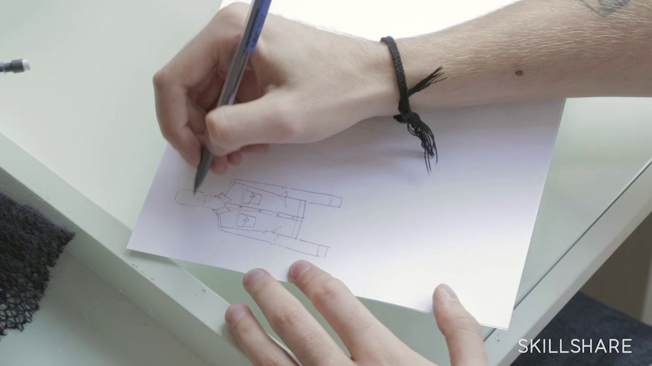 3f3ebcd86 دانلود Skillshare The First Steps of Fashion Design: From Concept to  Illustration