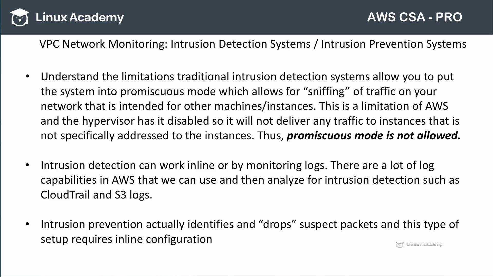 دانلود Linux Academy AWS Certified Solutions Architect