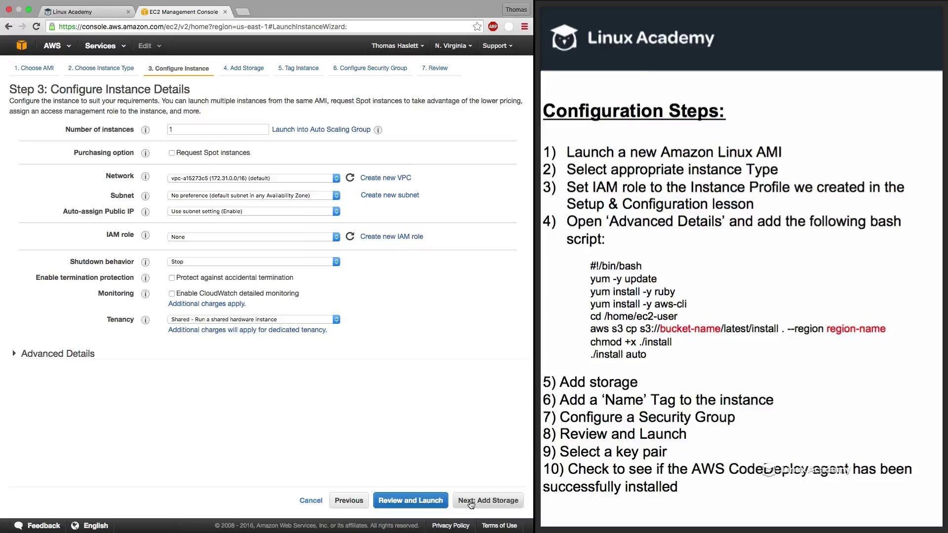 دانلود Linux Academy Manage & Deploy Code with AWS Developer Tools
