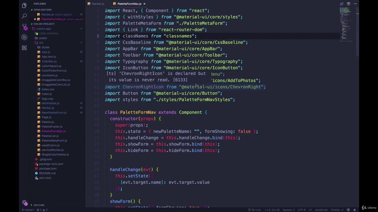 دانلود Udemy The Modern React Bootcamp (Hooks, Context, Router & More)