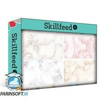 دانلود Skillshare Creating Seamless Marble Textures In Adobe Photoshop