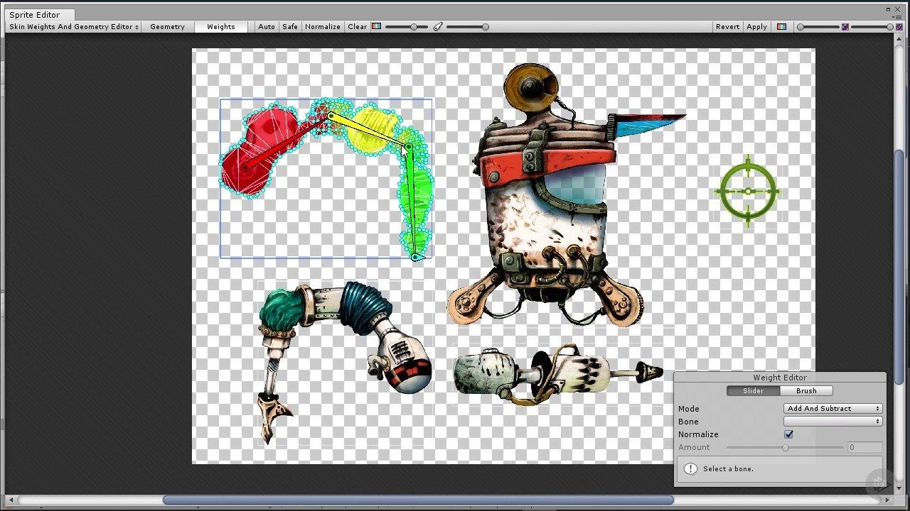 دانلود PluralSight Rigging a 2D Character in Unity Using IK