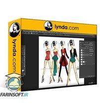دانلود lynda Photoshop for Fashion Design: 2 Rendering Techniques
