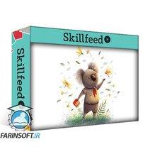 دانلود Skillshare Create a Character Illustration with Photoshop