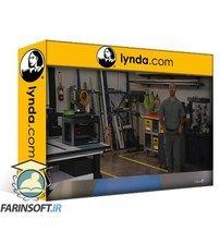 دانلود lynda Introduction to Mill and Lathe Operation